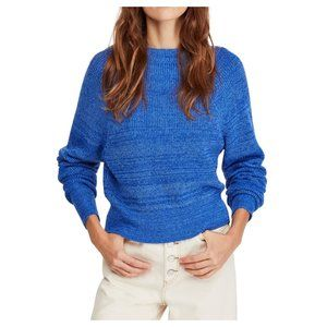 Free People Too Good Sweater in Blue
